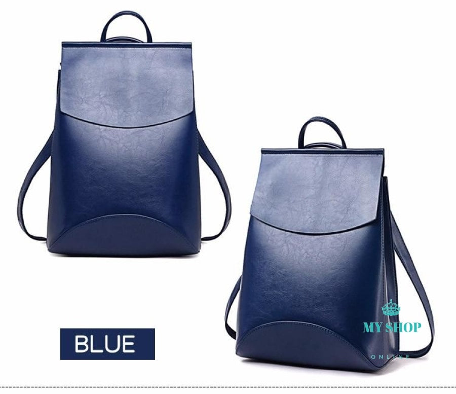 Fashion Women Backpack High Quality Youth Leather Backpacks For Teenage Girls Female School Shoulder