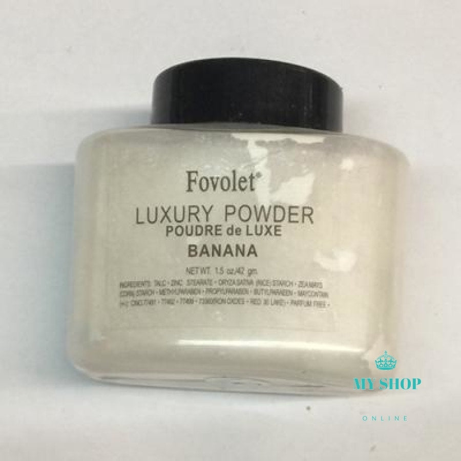 Fovolet 42G Best Quality New Banana Powder Makeup Loose Make Up Cosmetic Accesorios