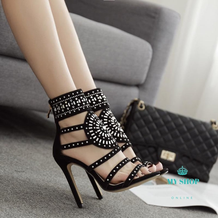 Gladiator Women Sandals Pumps Summer Party Shoes Accesorios