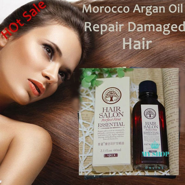 Hair Oil Argan Oil 60Ml Keratin Fr Accesorios