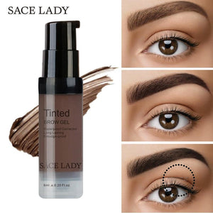 Henna Eyebrow Dye Gel Waterproof Makeup Shadow For Eye Brow Wax Long Lasting Tint Shade Make Up