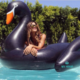 Inflatable Swimming Pool Float Summer Lake Lounge Kid Giant Rideable