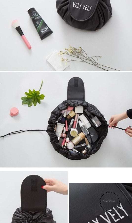 Lazy Make Up Makeup Bag Portable Travel Korea Drawstring Bulk Storage Cosmetics Dual Magic Bags