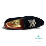 Loafers Men New Velvet Shoes Black Designer Accesorios