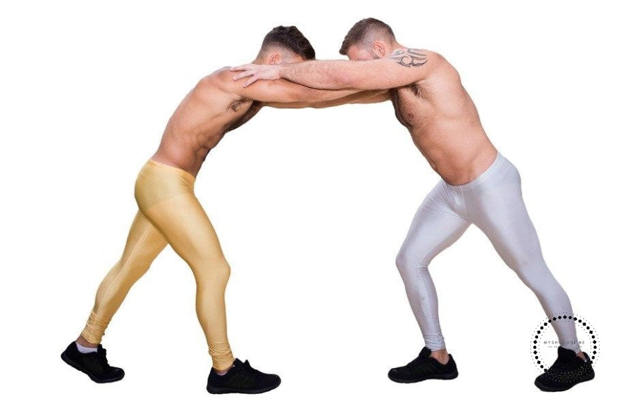 Long Pants Mens Tight High Stretch Men Bottoms Active Jogger Gay Workout Legging Full Length