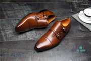 Luxury Genuine Leather Men Oxford Shoes Pointed Toe Dress Accesorios