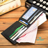 Luxury Slim Wallet Men Purse Male Clamp For Money Clip Walet Portfolio