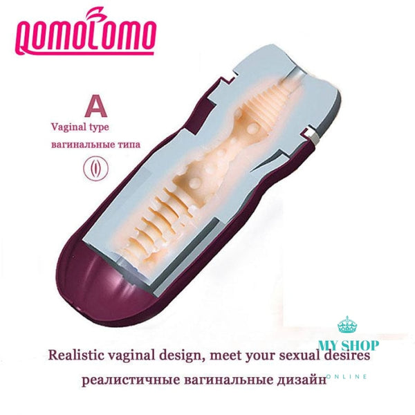 Male Masturbator Sex Toys For Men Silicone Vagina Accesorios
