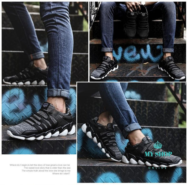 Men Casual Shoes Soft Breathable Sneakers Accesorios