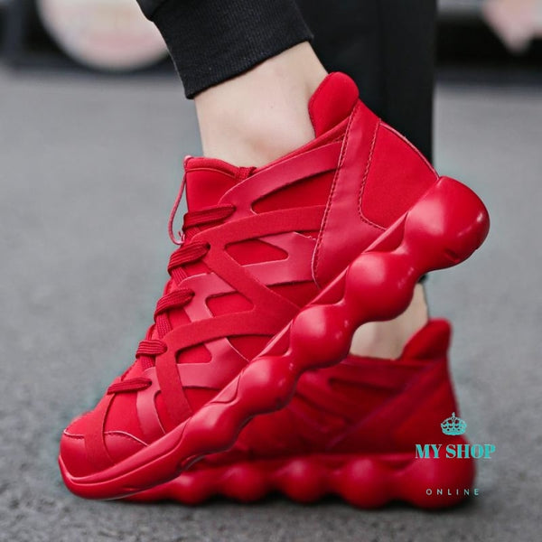 Men Running Shoes Spring Sport Breathable Comfortable Walking Jogging Lovers Trainers Athletic Woman
