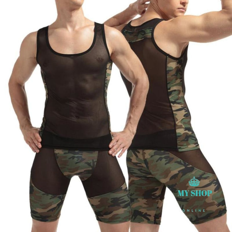 men sexy  Undershirt Fashion - myshoponline.com