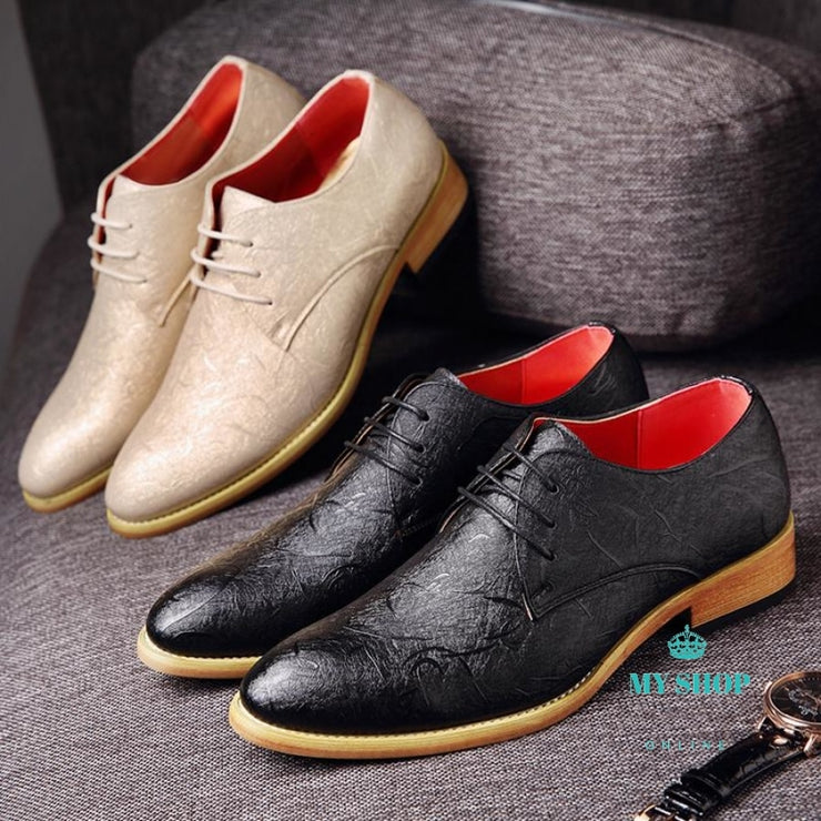 Men Shoes Black Mens Dress Shoes Accesorios