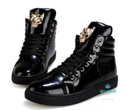 Men Shoes Casual Black / 7 Accesorios