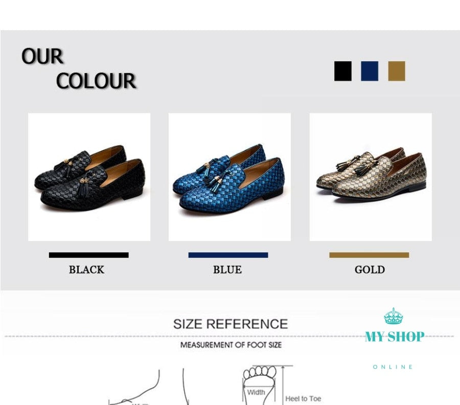Men Shoes Loafers Luxury Mens Flats Casual