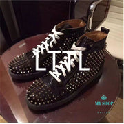 Men Spike Shoes Stylish Accesorios