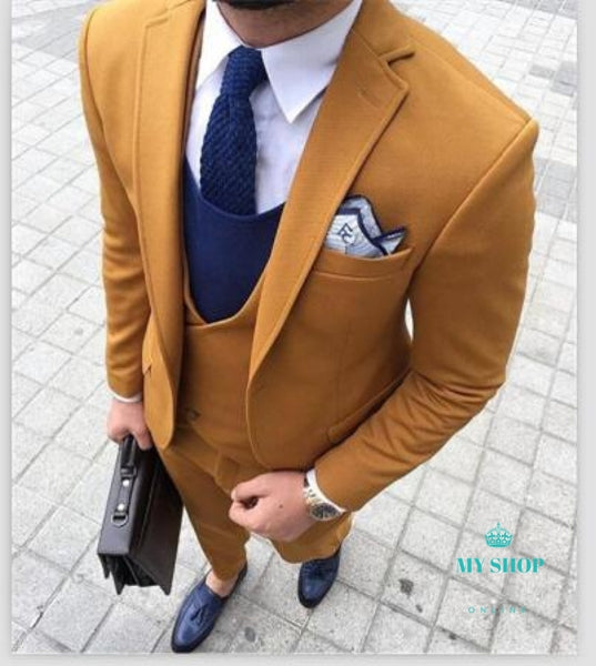 Men Suit 3 Pcs