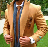Men Suit Slim Fit Jacket Accesorios