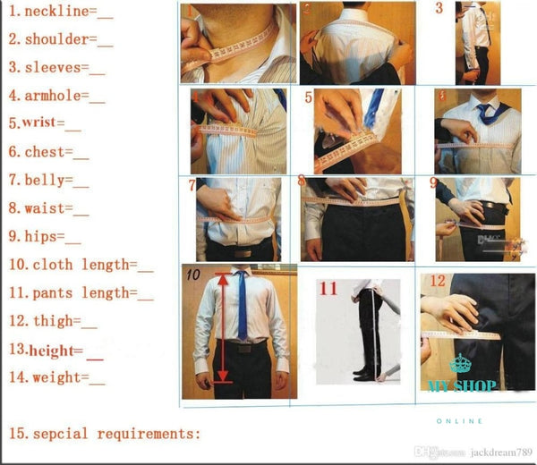 Men Suits (Jacket+Pant) Accesorios