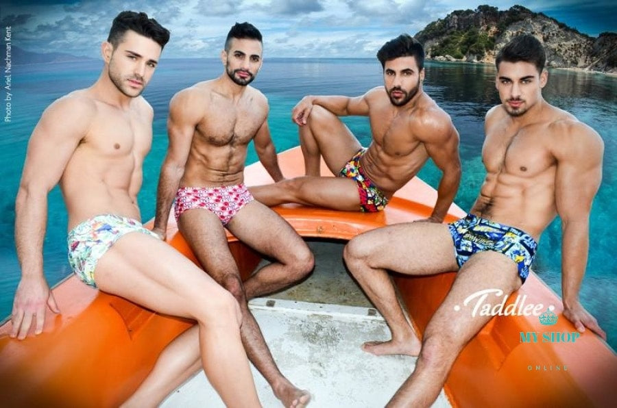 Men Swimwear Swimming Boxer Trunks Shorts Mens Swimsuits Swim Wear Accesorios
