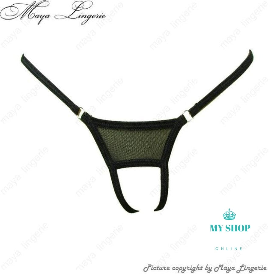 men thongs open crotch mesh transparent mini Micro G-String male g string mesh rings low-rise mens underwear expose cock gay - myshoponline.com
