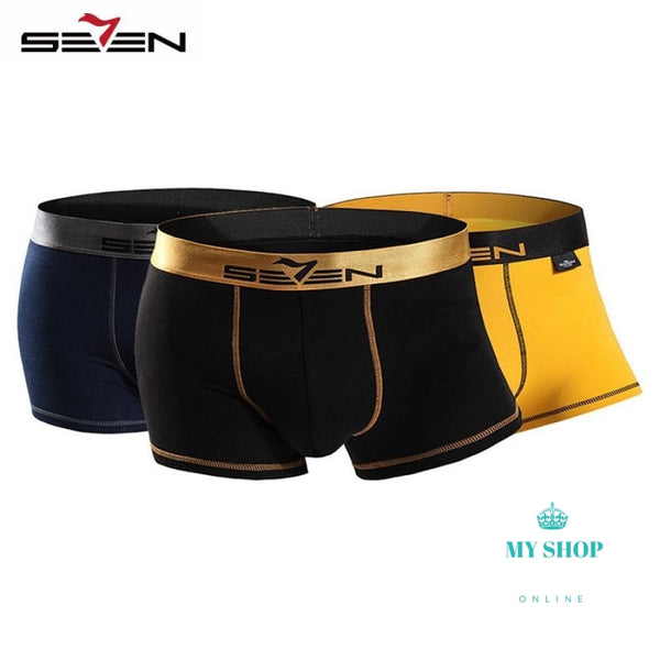 Men Underwear Set 3Pcs Hombres