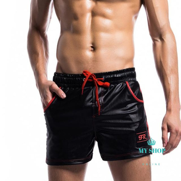 Mens Board Shorts Quick Dry Solid Men Hawaiian Beach Beachwear