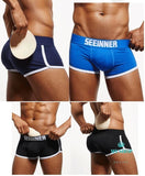 Mens Butt Pad Underwear + Back Double Removable Push Up Cup Accesorios