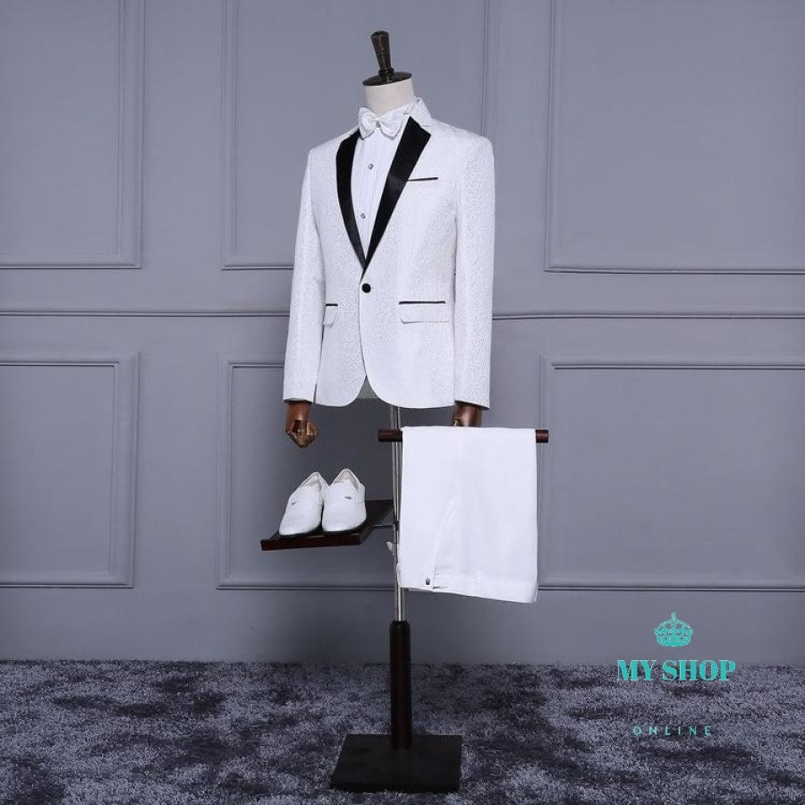 Mens Classic Suit Slim Fit Accesorios
