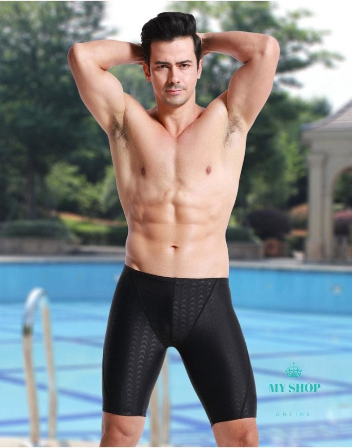 Mens Long Racing Swimming Sport Shorts Accesorios
