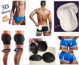 Mens Padded Underwear + Sillicon Pads Butt Lifter Up Hombres