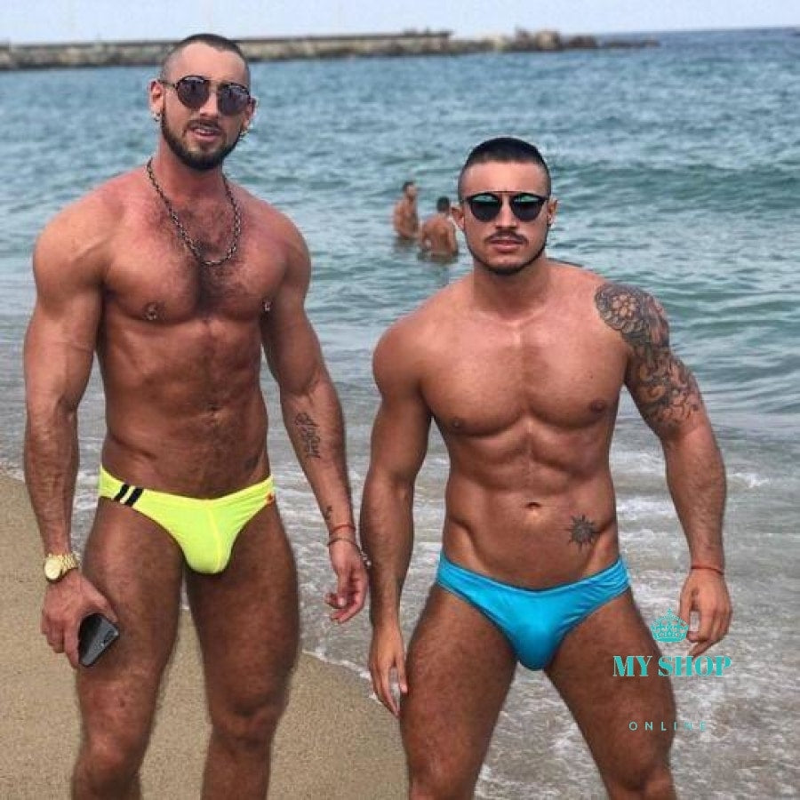 99fc9a80d8 ... Mens Sexy Trousers Swimwear Beachwear Red / M Hombres ...