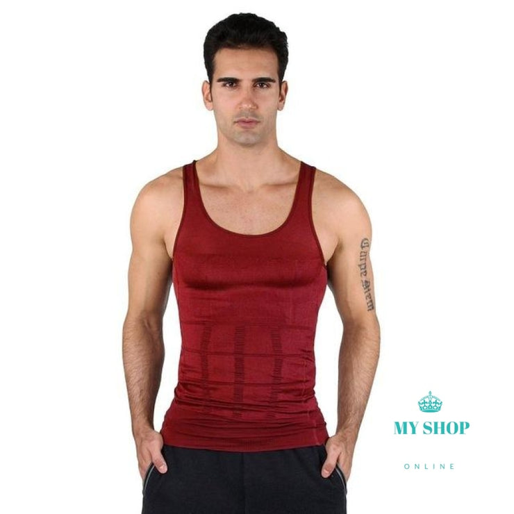 mens slimming Body Shaper under shirt - myshoponline.com