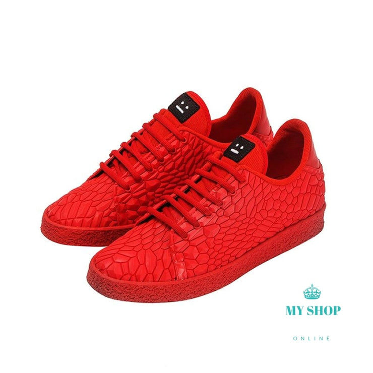 Mens Sneaker Glowing Casual Skateboard Flats Shoes Accesorios
