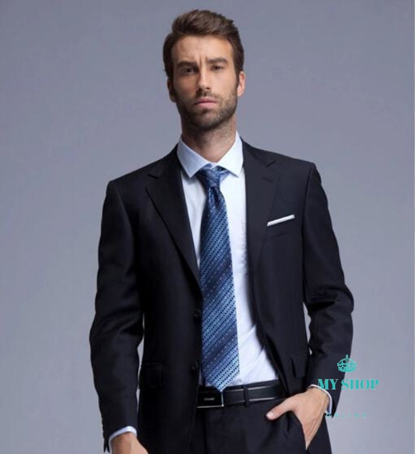 Mens Suits Classic 2 Pieces Jacket+Pant Accesorios