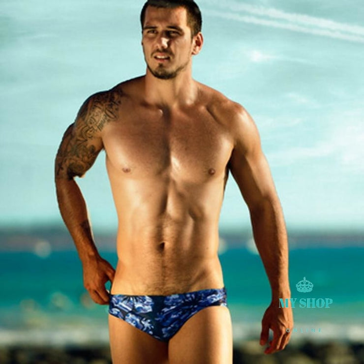 Mens Swimwear Swimming Trunks Swim Briefs Beach Swimsuit Men Accesorios