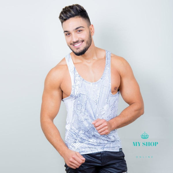 Mens Top Tanks Shirts Sleeveless Tees Undershirts Gym Run Basketball Tshirt Singlets Stringer Muscle
