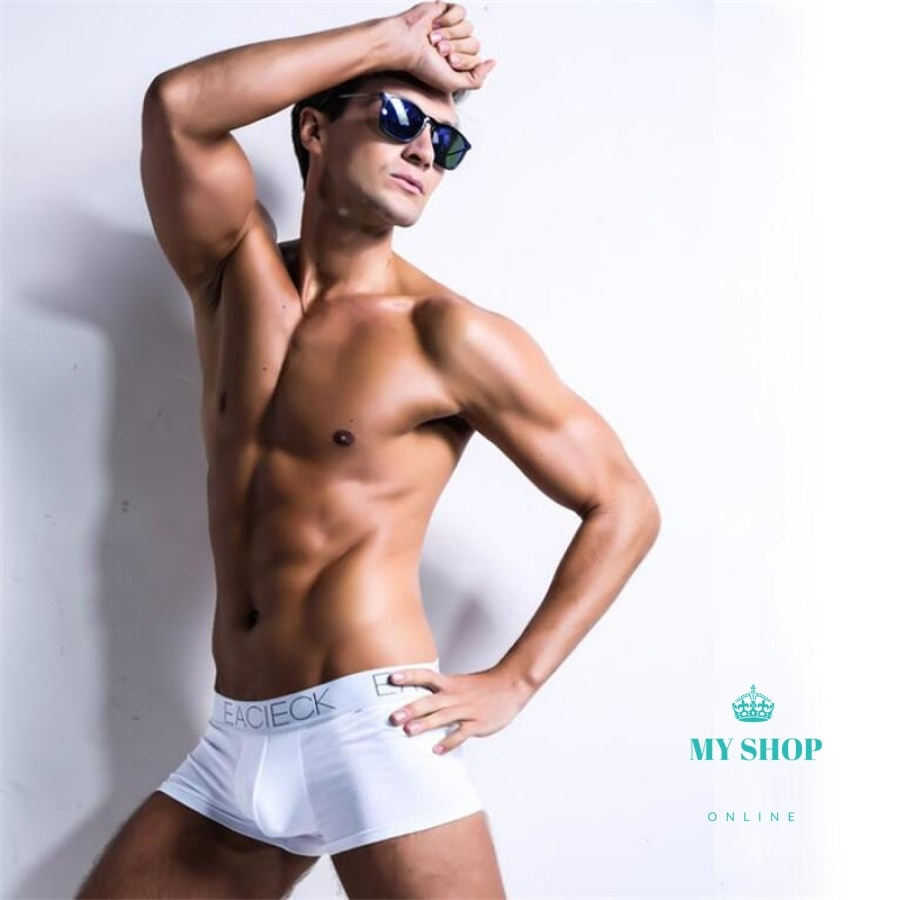 Mens Underwear Boxers Cotton Breathable Boxer Accesorios