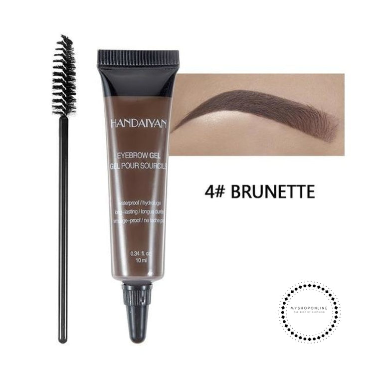 Microblading Eyebrow Tattoo Pen Brush Kit Waterproof Gel Paint Makeup Henna Dye Cream 04