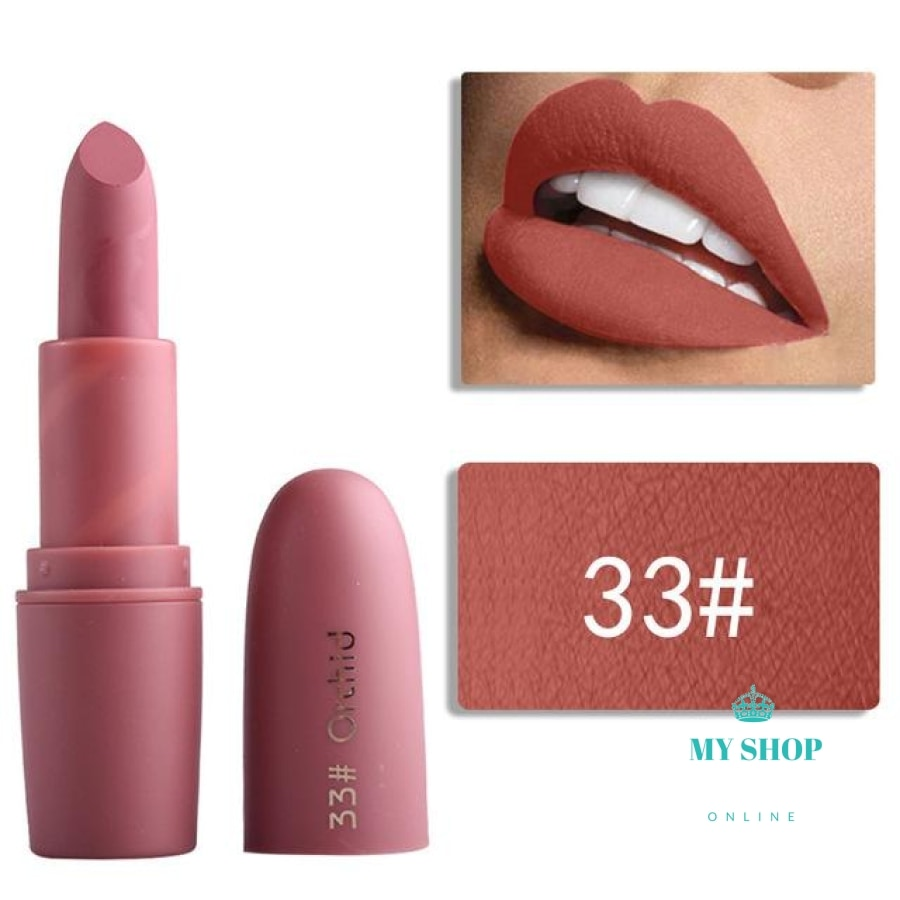 Miss Rose Pigmented Makeup Liquid Lipstick Cosmetic New Matte For Women Make Up Lip Stick 49