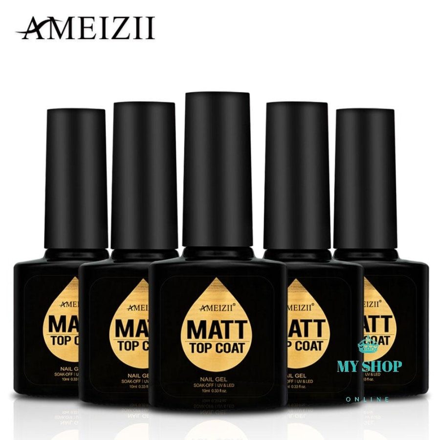 Nail Art Matte Top Coat Design Gel Lacquer Soak Off Uv Polish Tips Accesorios