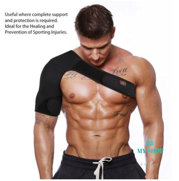 New Neoprene Brace Pain Shoulder Support Deporte