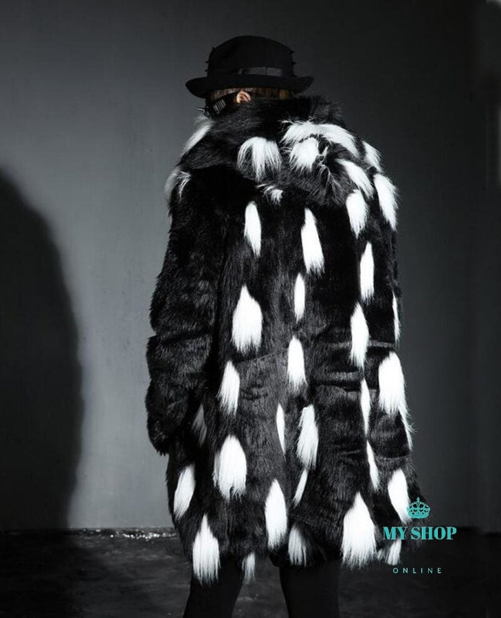New Winter Fashion Men Faux Fur Accesorios