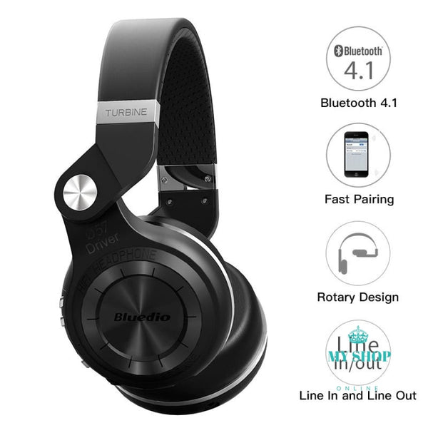 Original Helmet Bluedio T2S Bluetooth Headphones For Iphone Samsung Xiaomi Accesorios