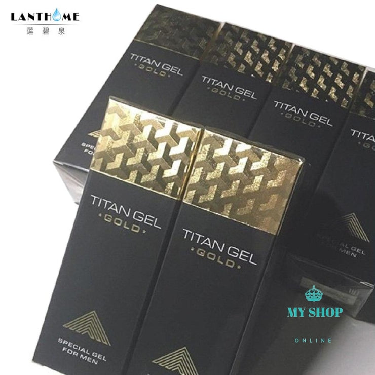 Original Titan Gel Gold Russia Penis Enlargement Cream Retarder Intim For Help Male Potency Growth
