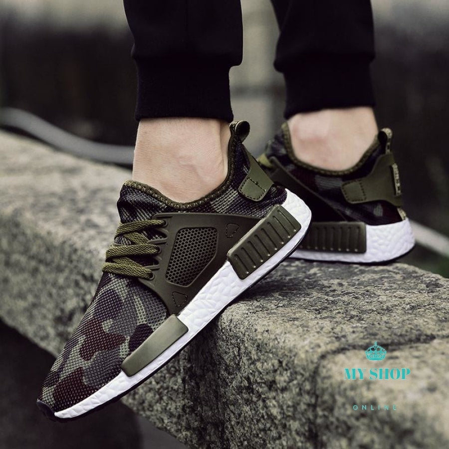 Outdoor Military Camouflage Men Casual Shoes Accesorios