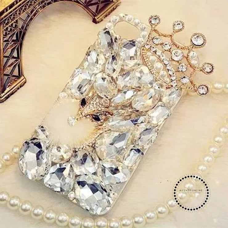 Phone Case Cover For Iphone X 7 8 Plus 6 6S 5 5S Se 5C Crown / For 4S Accesorios