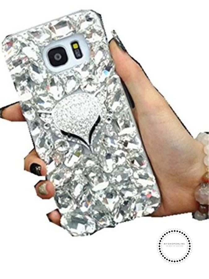 Phone Case Cover For Iphone X 7 8 Plus 6 6S 5 5S Se 5C Silver Fox / For 4S Accesorios