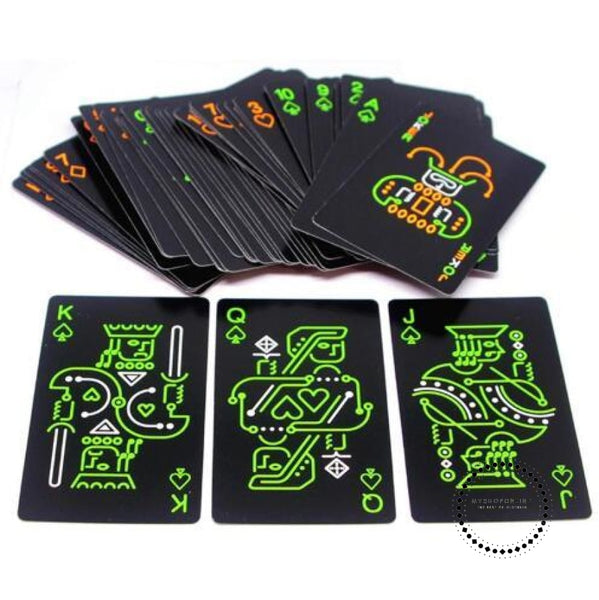 Playing Cards Set Trend 54Pcs Deck Poker Classic Magic As Shown