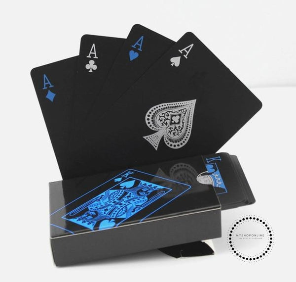 Playing Cards Set Trend 54Pcs Deck Poker Classic Magic Sky Blue