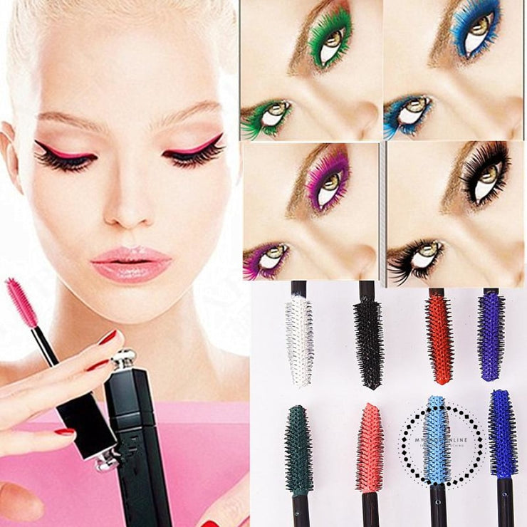Popfeel New 8 Color Mascara Makeup Women Make Up Cosmetic Accesorios